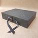 Black Keepsake Box / Photo Box (Flush edge)