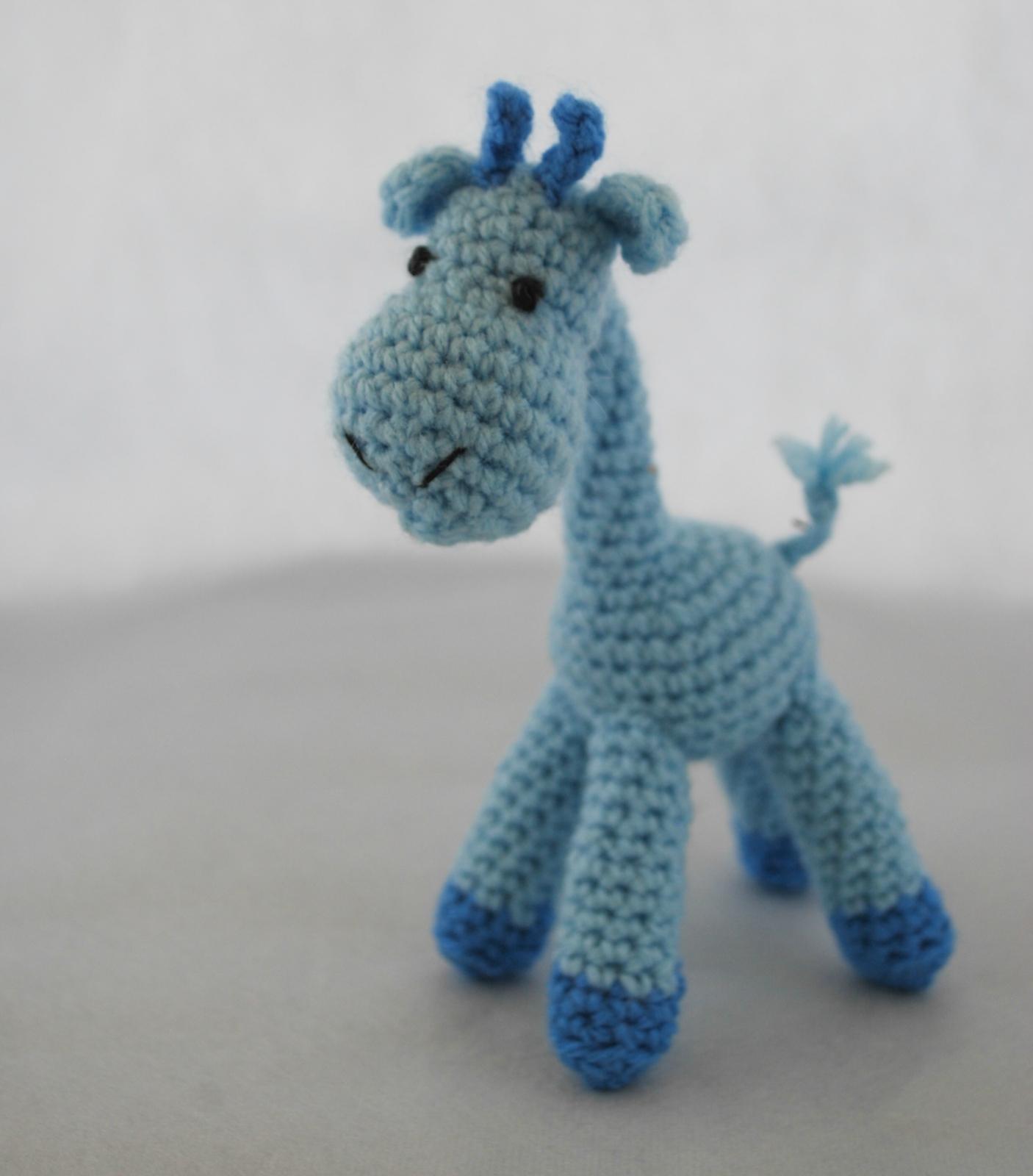 Crochet Giraffe Felt
