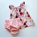 Flutter Top and Nappy Cover 6-12m