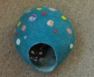Cat Cave Size Medium Pure Wool from South Island New Zealand Made to order