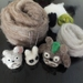 Make a soft toy Totoro Wools and tools