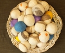 ECO friendly Christmas gift - Set of 3 laundry dryer balls from FeltSoapGood