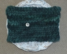 Christmas Green Knitted chunky layer Photo prop Baby photography basket stuffer by FeltSoapGood