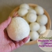 Reusable nappies helper - ECO friendly product - Set of 3 laundry dryer balls from FeltSoapGood