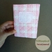 Hand-quilted cover and pocket journal by FeltSoapGood