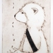 + Studio Sale + Or the faint smell of leaves, drypoint print