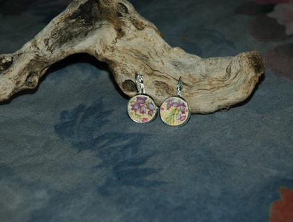 Purple Heather Earrings (E79)