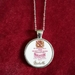 "Paragon Bone China Back-Stamp ""Michelle"" -  Pendant (P86)"