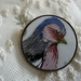 Handpainted Chaffinch Brooch B95