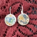 Misty Floral Earrings (E100))