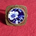 Calico Blue Ring (R143)