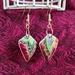 Butterfly Wings China Earrings (E149)