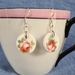 In the Pink - pretty rose earrings Earrings (E168)