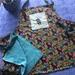 Handmade reversible full apron