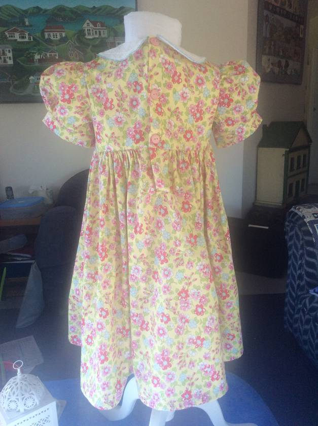 Just like Princess Charlotte- a beautiful hand smocked dress