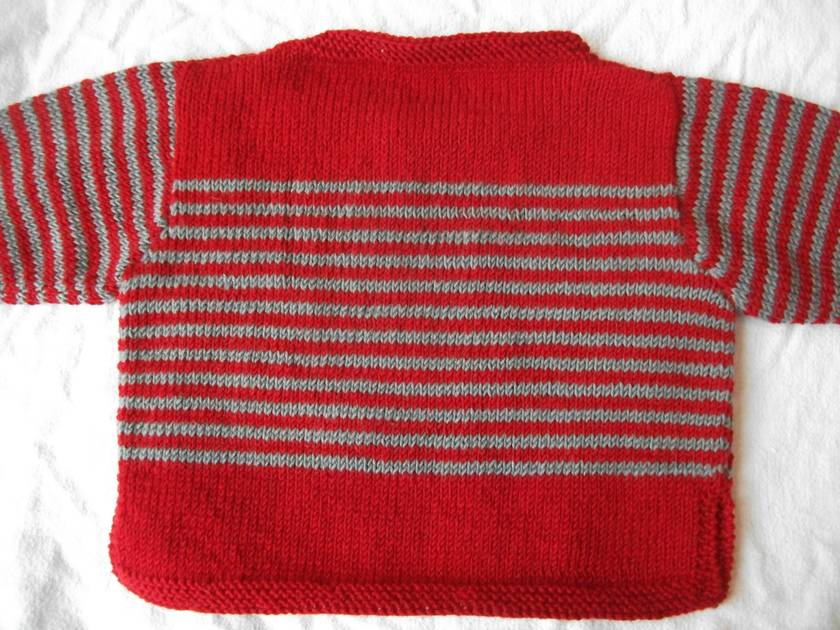 Striped Baby Jersey