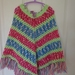 Colourful Kids Poncho