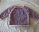 Girl's Side-Opening Cardigan