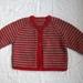Striped Baby Cardigan