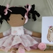 Rosie Fabric Doll - Pink Floral Dress