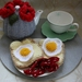 Bacon and Egg Crocheted Play Food Set