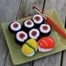 Crochet Sushi Play Food Set