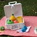 Crocheted Tropical Fruit Play Food Set
