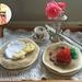 Crocheted Pancake Play Food Set