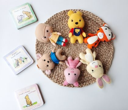 Winnie the Pooh and Friends Felt Doll