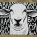 Black and White Baa Sheep Gift Card