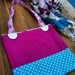 Summery shoulder tote