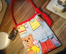Super cute teddy bag