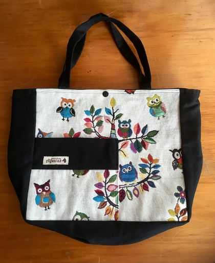 OWL TOTE/PROJECT BAG