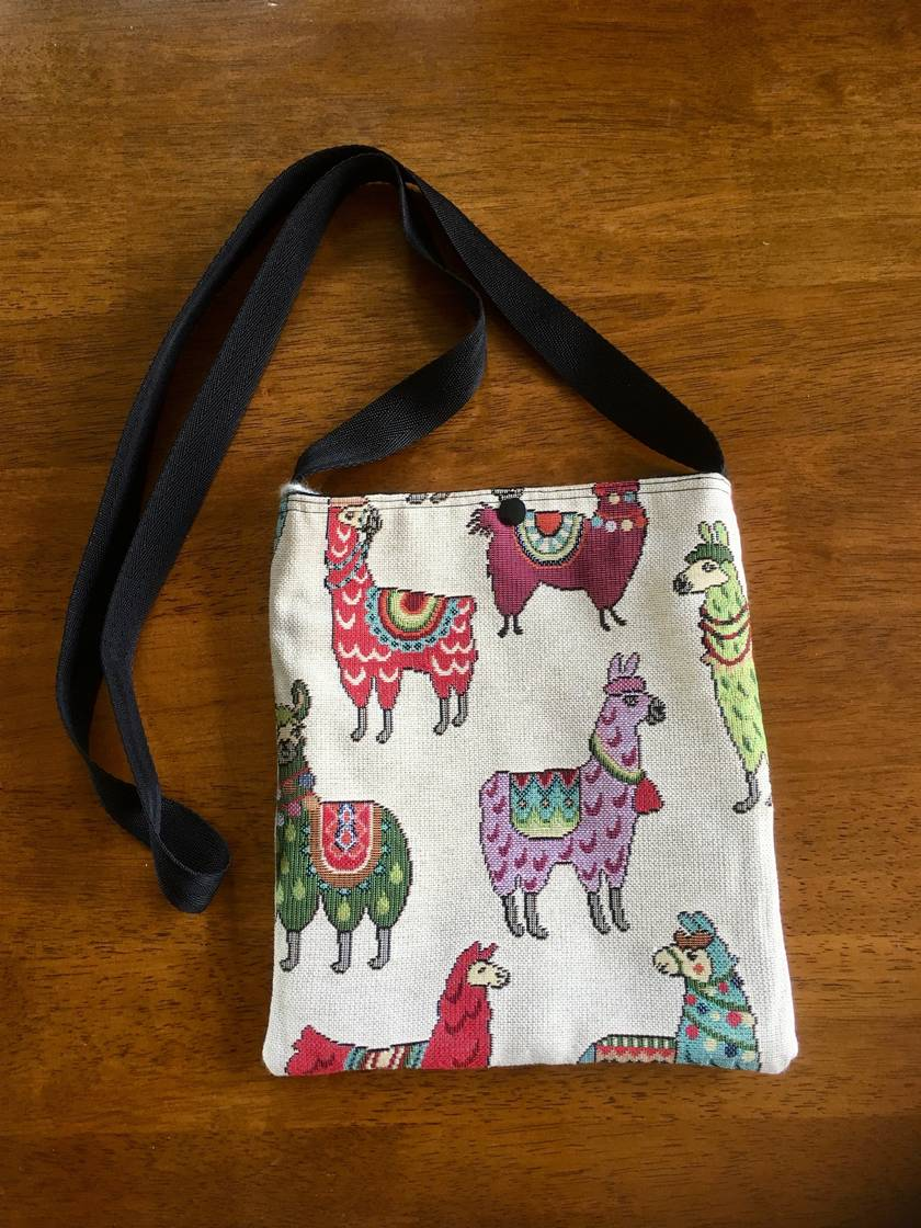 ALPACA SHOULDER BAG