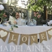 """""""LOVE"""" bunting by Madelaines"""
