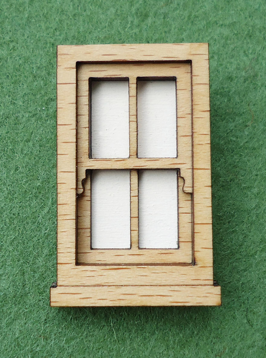 Wooden window frame brooch felt for Wooden windows