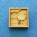 Tree and ladder brooch - shadow box
