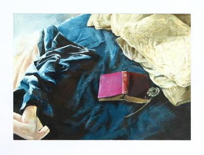 'Lazy Morning' original acrylic painting