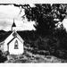 'Nestled Church' original charcoal drawing