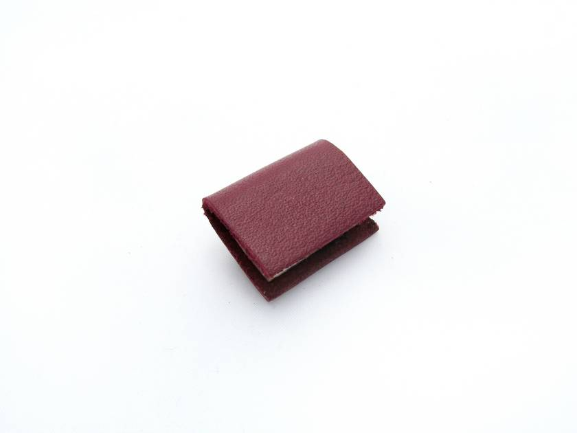 Maroon Red Leather Miniature Handcrafted Book Brooch For Her- Teeny Tiny, Miniature, Literature