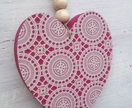 Hearts and Crosses - Wall art