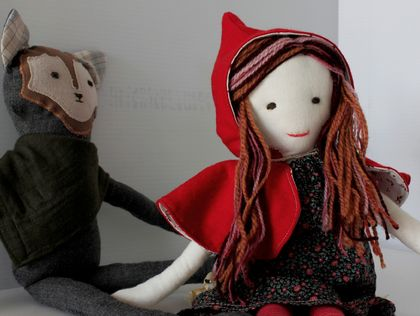 Little Red Riding Hood and Wolfie Set