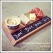 Blackboard cheese board