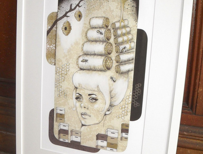 'Beehive' - Limited edition giclee print by Andy McCready