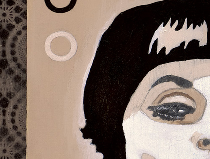 'Doe Eyed' - Limited edition giclee print by Andy McCready