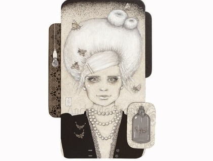 'Belle of the Mothball' - Limited edition giclee print by Andy McCready