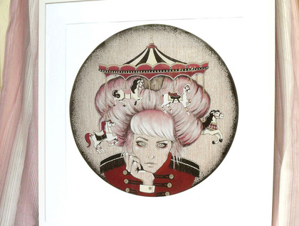 'Carousel' - Limited edition giclee print by Andy McCready