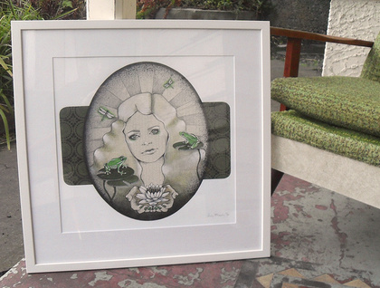 'Lily's Pad' - Limited edition giclee print by Andy McCready