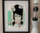 Poodle Parlour - Small limited edition giclee print by Andy McCready