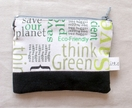 Think Green Zip Wallet